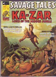 Savage Tales #11 (Jul-75) FN/VF Mid-High-Grade Ka-Zar