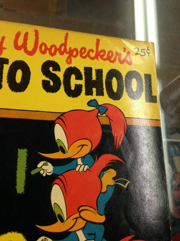 DELL Giant Woody Woodpecker's Back to School 2 VG