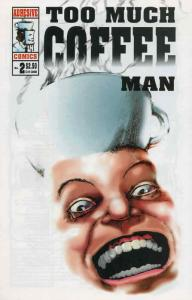 Too Much Coffee Man #2 VF/NM; Adhesive | save on shipping - details inside