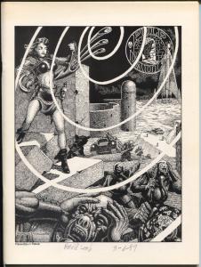 Pulp Vault #4 1989-Harold Lamb-Capt Future-Will Murray-Black Hood-FN