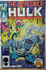 The Incredible Hulk #337 (1987)  X-Factor !