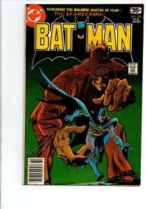 Batman #296 newsstand - Scarecrow - 1978 - Very Fine
