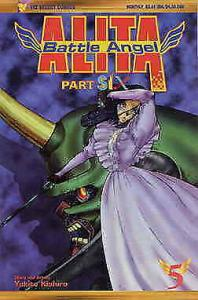 Battle Angel Alita Part 6 #5 VF; Viz | save on shipping - details inside