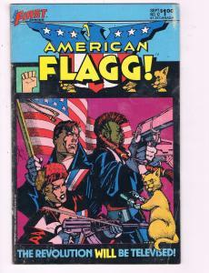 American Flagg #12 VG First Comics Comic Book DE8