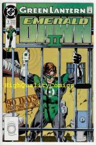 GREEN LANTERN EMERALD DAWN II #1 2 3 4, NM+, Hal Jordan, 1991, Keith Giffen