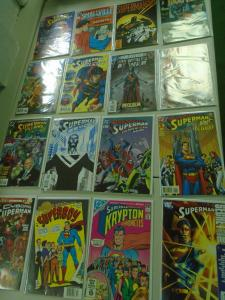 Superman Specials Comic Lot 32 different books average 8.0 VF (years vary)