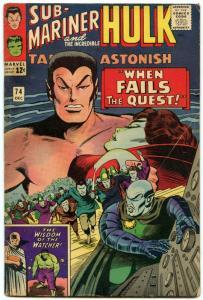 Tales to Astonish 74 Dec 1965 VG- (3.5)