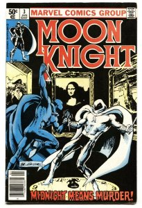 Moon Knight #3 1980 - 1st appearance of Midnight Man
