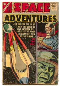 Space Adventures #50 1963-Charlton comics G-