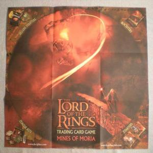 LORD OF THE RINGS Promo poster, 27x27, 2002, Unused, more Promos in store