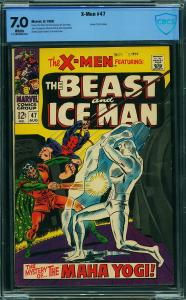 X-Men #47 CGC 7.0