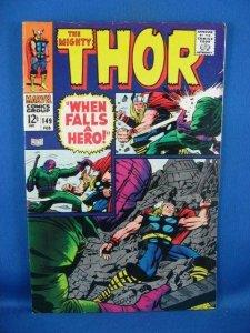 Thor #149 (Feb 1968, Marvel) F VF