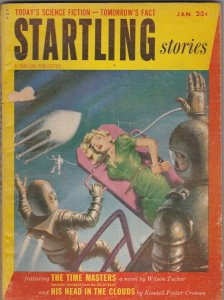 Startling Stories January 1954 Pulp Magazine