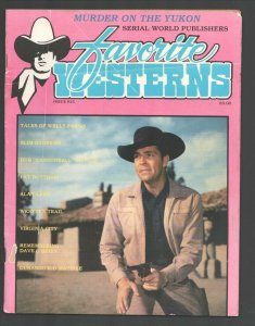Favorite Westerns #15 1983-Dale Robertson-Tales of Wells Fargo-cover & story-...
