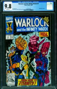 Warlock and the Infinity Watch #9 CGC 9.8 Gamora Thanos 2020819016