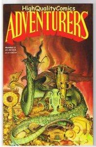 ADVENTURERS #8, VF, Dwarf, Dragon, Mage, Treasure, 1986, more indies in store