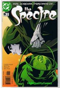 SPECTRE #6,V4, NM+, 2001, Vertigo, Ryan Sook, Green Lantern, more in store