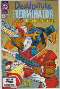 Deathstroke the Terminator #13