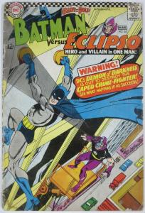 BRAVE AND THE BOLD #64 (DC) April, 1966 GOOD Batman/Eclipso