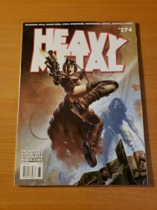 Heavy Metal Magazine #274 ~ NEAR MINT NM ~ 2014 illustrated Magazine