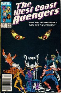 West Coast Avengers #5 (Newsstand) FN; Marvel   save on shipping - details insid