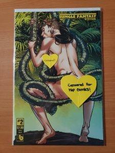 Jungle Fantasy Secrets #2 Flora Adult Variant Cover