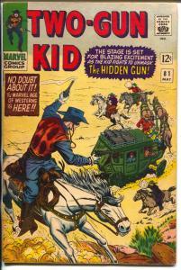 Two-Gun Kid  #81 1966-Marvel-Gunfight cover-Stan Lee-Dick Ayers-FN-