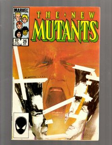 New Mutants # 26 FN/VF Marvel Comic Book Warlock X-Men Wolverine Storm Rogue RP5