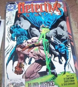 DETECTIVE COMICS  # 599 BATMAN  blind justice 2 DC
