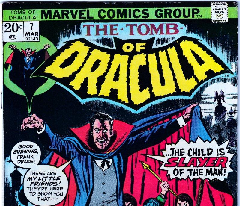 Tomb of Dracula(vol. 1) # 7  The Children's Crusade !