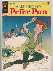 Movie Classic Peter Pan #10086-309 (Sep-63) VG/FN Mid-Grade Peter Pan