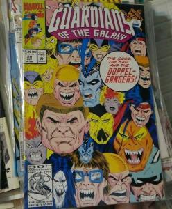 Guardians of the Galaxy # 29 1992 marvel   INFINITY WAR CROSSOVER+DOOM, GOTG