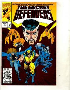 10 Secret Defenders Marvel Comics # 1 2 4 5 6 7 8 11 14 19 J342