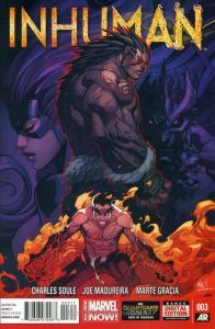 Inhuman #3 VF/NM; Marvel | save on shipping - details inside
