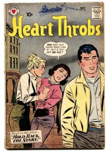 HEART THROBS #65 comic book 1960 DC-ROMANCE-TORRID DRAMA!