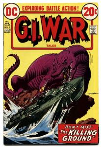 G.I. War Tales #2-1973-Dinosaur cover-DC bronze age comic book