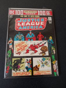 JUSTICE LEAGUE OF AMERICA #110 DC COMIC Bronze 1974 100 PAGES F/VF HIGH GRADE