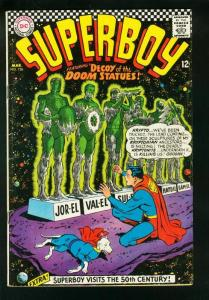 SUPERBOY #136 1966-DC SILVER AGE-KRYPTONITE COVER-VG