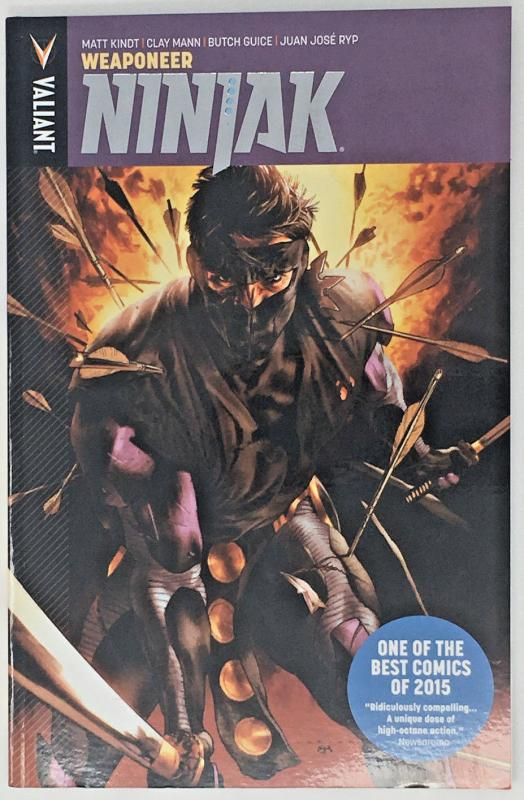 NINJAK: Weaponeer - Book 1 TP Collects issues 1-6 Kindt, Guice, Mann, Ryp
