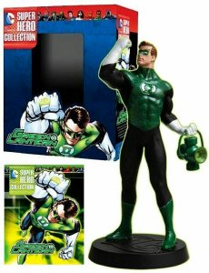 DC Superhero Collection #22 Green Lantern Figure w/Booklet (Eaglemoss) New!