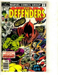Lot of 11 Defenders Marvel Comic Books 40 44 48 49 53 56 57 92 98 101 129 JF10