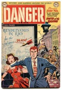 Danger Trail #5 1951- Johnny Peril- LAST ISSUE FN+