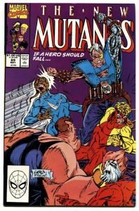 THE NEW MUTANTS #89 1990-ROB LIEFELD-3rd CABLE APPEARANCE nm-