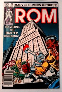Rom #23 Marvel 1981 VF/NM Bronze Age Comic Book 1st Print