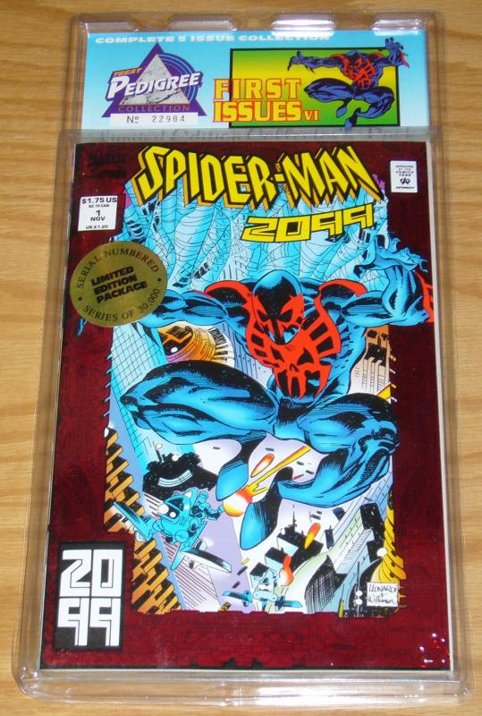 Treat Pedigree Collection: First Issues 6 VF/NM slapstick - spider-man 2099