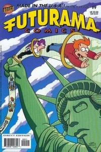 Futurama #9, VF+ (Stock photo)