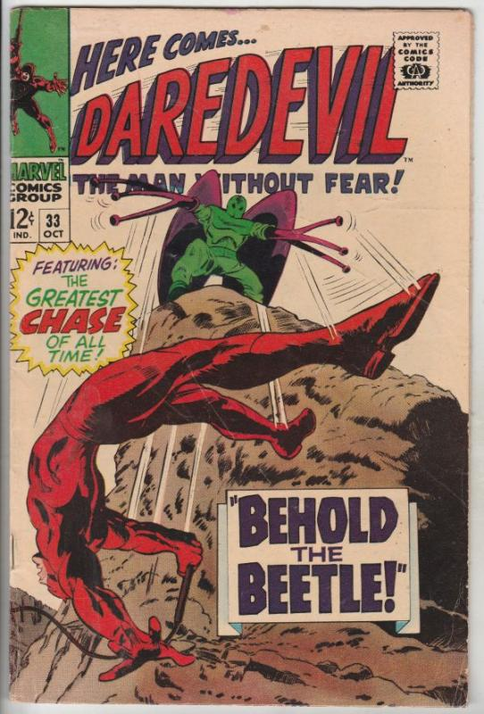 Daredevil #33 (Oct-67) FN Mid-Grade Daredevil