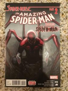 Marvel Amazing Spider-Man 10 * Spider-Verse Part 2 * 1st App Spider-Punk