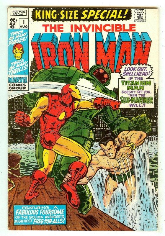 Iron Man Special 1   Sub-Mariner crossover