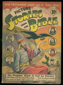 PICTURE STORIES FROM THE BIBLE #4 1943-DC COMICS FN-